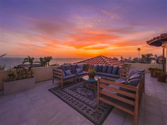 Rooftop Sunset A