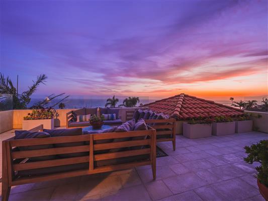 Rooftop Sunset B