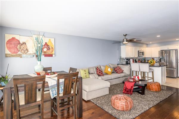 Kitchen / Dining Room / Living Room
