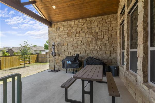 Over-sized Covered Patio