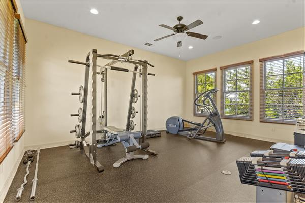 Master Bedroom Gym