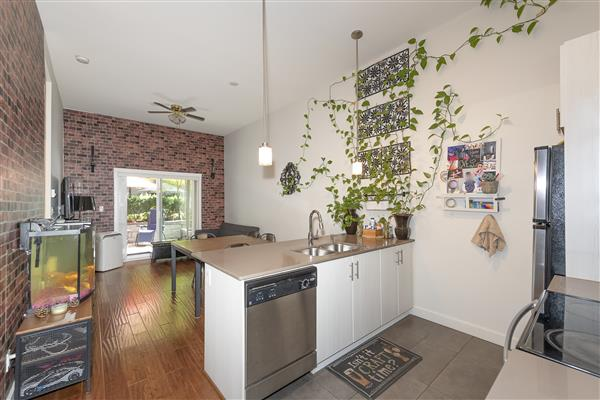 Kitchen/Dining/Living Rm