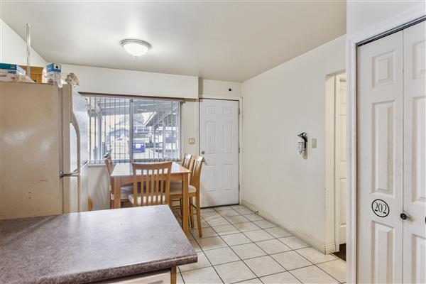 Kitchen / Deck