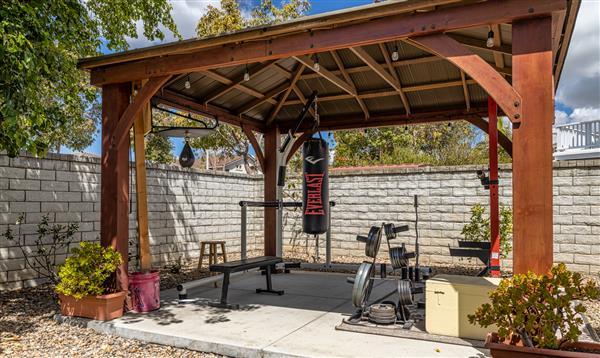 Gazebo & Or Gym Area