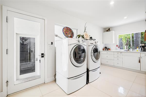 Laundry And Second Kitchen