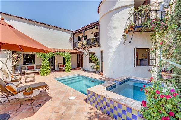 Pool View Toward House