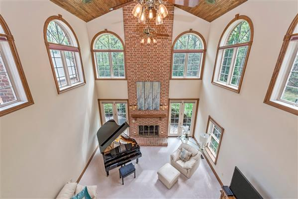 Family Room From Above